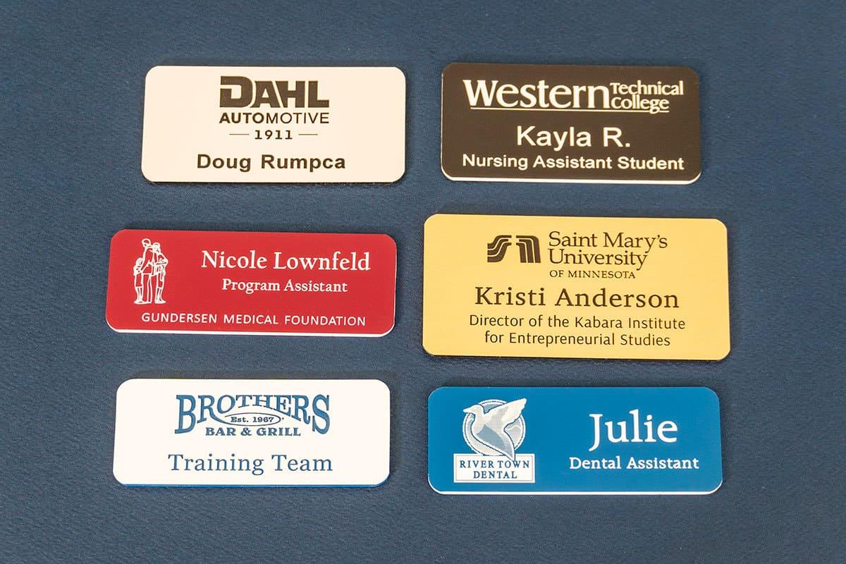Custom Name Badges, Professional Name Badges, Magnetic Name