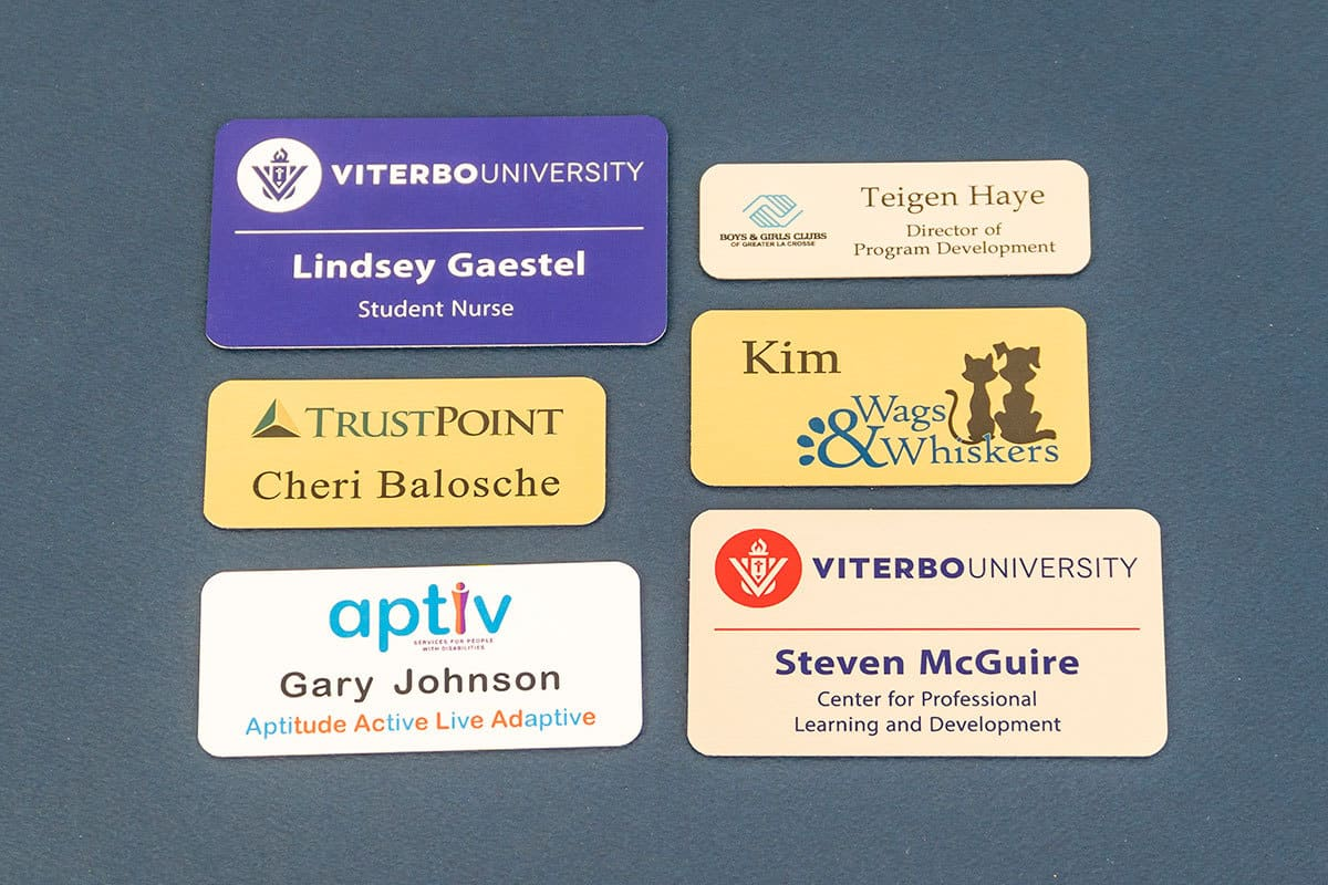 custom name badges professional name badges magnetic name badges